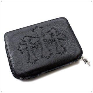 クロムハーツ 財布(Chrome Hearts)ウォレット バンク ローバー ブラック ヘビーレザー 【クロム・ハーツ】【クロムハーツ財布】【名古屋】