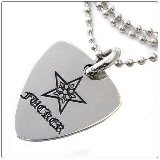 クロムハーツ(Chrome Hearts)ペンダント ギター ピック チャーム スター ファッカー  (ネックレス)【クロム・ハーツ】【クロムハーツ財布】【名古屋】