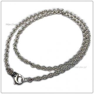 クロムハーツ(Chrome Hearts)ネックレス チェーン NEチェーン 20インチ(約50cm) (ネックレス)【クロム・ハーツ】【クロムハーツ財布】【名古屋】