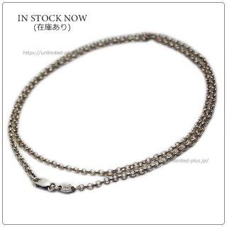 クロムハーツ(Chrome Hearts)ネックレス チェーン ロールチェーン 18インチ(約45cm) (ネックレス)【クロム・ハーツ】【クロムハーツ財布】【名古屋】