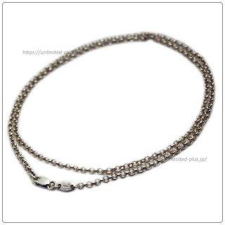クロムハーツ(Chrome Hearts)ネックレス チェーン ロールチェーン 24インチ(約60cm) (ネックレス)【クロム・ハーツ】【クロムハーツ財布】【名古屋】