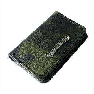 クロムハーツ 財布(Chrome Hearts)カードケース#2 グロメット/スクロール タンクカモ ヘビーレザーウォレット 【クロム・ハーツ】【クロムハーツ財布】【名古屋】