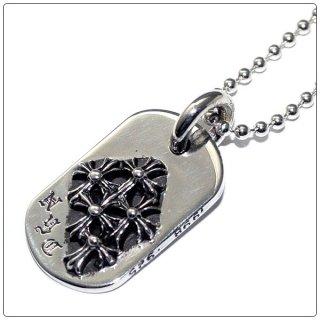 クロムハーツ(Chrome Hearts)ドッグタグ レイズドセメタリー NYC ドッグタグ 【クロム・ハーツ】【クロムハーツ財布】【名古屋】