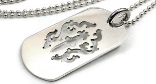 クロムハーツ(Chrome Hearts)ドッグタグ ダガー ドッグタグ ラージ 【クロム・ハーツ】【クロムハーツ財布】【名古屋】