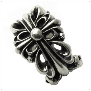クロムハーツ リング/指輪(Chrome Hearts)ダブル フローラル クロス【クロム・ハーツ】【クロムハーツ財布】【名古屋】