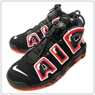 <img class='new_mark_img1' src='https://img.shop-pro.jp/img/new/icons14.gif' style='border:none;display:inline;margin:0px;padding:0px;width:auto;' />NIKE ナイキ AIR MORE UPTEMPO 96-BK/WH ナイキ エア モア アップテンポ ブラック/ホワイト【モアテン】