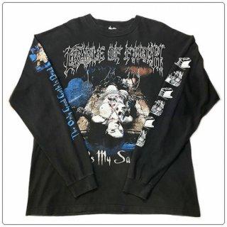 CRADLE OF FILTH (クレイドル オブ フィルス) 1999 Life Is My Sacrifice ヴィンテージ バンド Tシャツ ロングスリーブ 長袖
