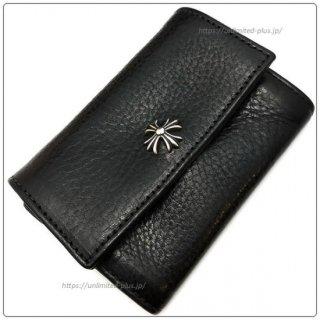 クロムハーツ 財布 (Chrome Hearts) ウォレット タイニー CHプラス ブラック ヘビー レザー【クロム・ハーツ】【名古屋】