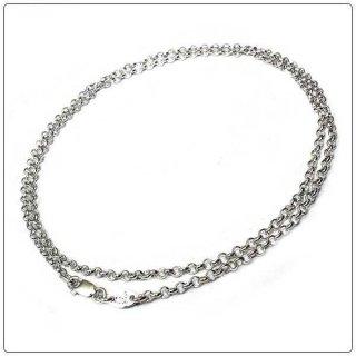 クロムハーツ(Chrome Hearts)ネックレス チェーン ロールチェーン 30インチ(約76.2cm) (ネックレス)【クロム・ハーツ】【クロムハーツ財布】【名古屋】
