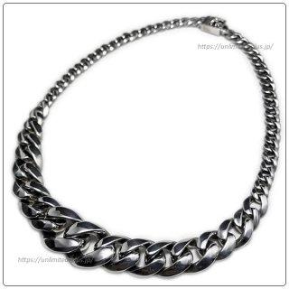 クロムハーツ(Chrome Hearts)ネックレス テーパード クラシック リンク / ボックス CHX 18インチ (約45cm) (ネックレス)【クロム・ハーツ】【クロムハーツ財布】【名古屋】