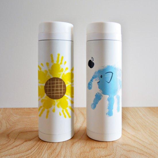 水筒・マグボトルMサイズ-300ml|選べる9種の手形アート