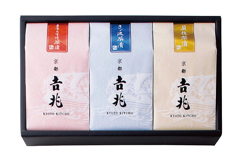 お好み贅沢茶漬 3種[ますのすけ・さざ波・貝柱]