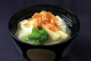 期間限定|桜海老と筍の煮麺