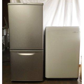 【セット販売 ID :   S-005】<br>冷蔵庫:Panasonic/2017年製/138リットル<br>洗濯機:Panasonic/2017年製/5kg