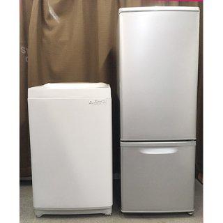 【セット販売 ID : S-008】<br>冷蔵庫:Panasonic/2015年製/168リットル<br>洗濯機:東芝/2015年製/5kg