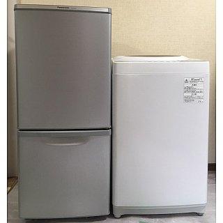 【セット販売 ID : S-017】<br>冷蔵庫:Panasonic/2017年製/138リットル<br>洗濯機:東芝/2018年製/5kg
