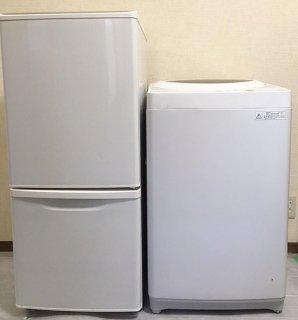 【セット販売 ID : S-024】<br>冷蔵庫:Panasonic/2012年製/138リットル<br>洗濯機:東芝/2013年製/5kg