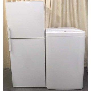 【セット販売 ID : S-038】<br>冷蔵庫:無印良品/2018年製/140リットル<br>洗濯機:無印良品/2017年製/6kg