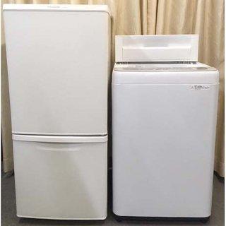 【セット販売 ID : S-042】<br>冷蔵庫:Panasonic/2019年製/138リットル<br>洗濯機:Panasonic/2018年製/5kg
