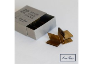 BRASS CARD STAND 20sets SMALL SIZE