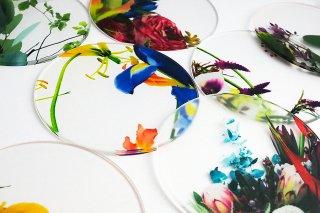 泉文 Ikebana coaster