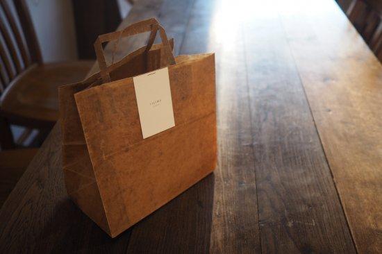 蝋引きギフトバッグ