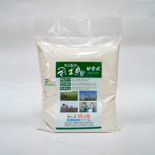 石臼製粉 常陸秋そば 田舎風(ブレンド)そば粉 1kg