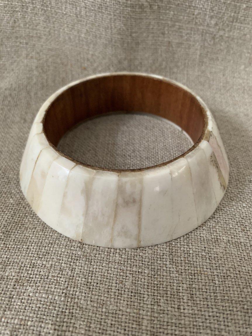 white bangle(vintage&used101)