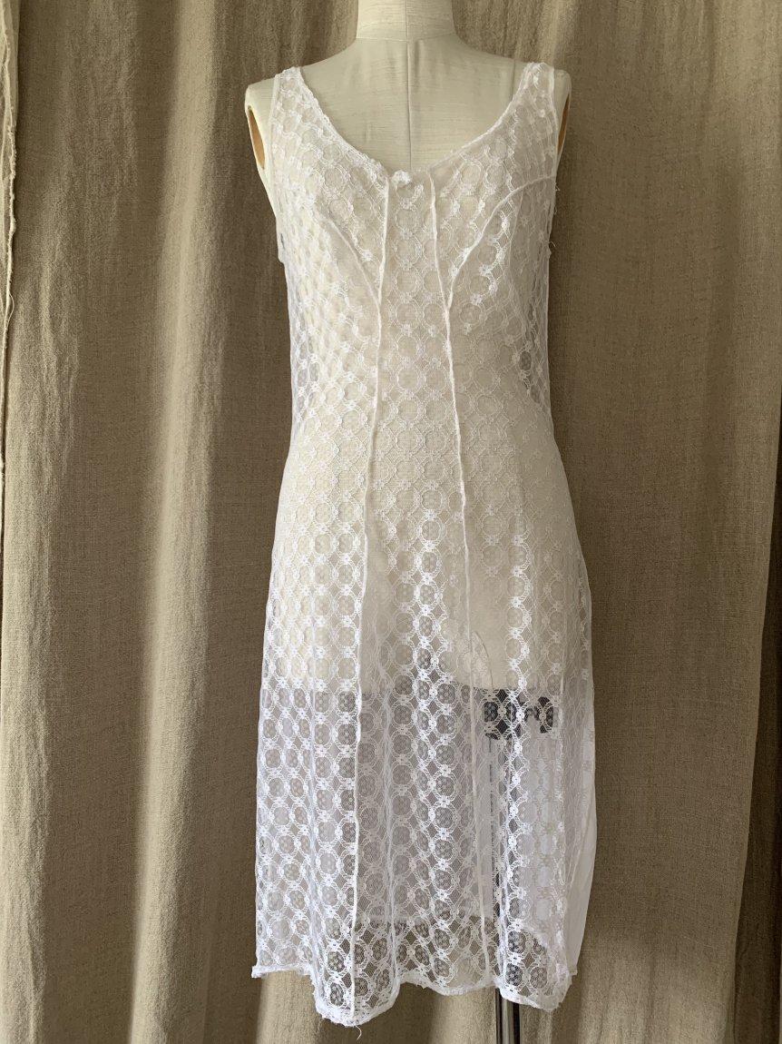 slip dress(vintage&used40)