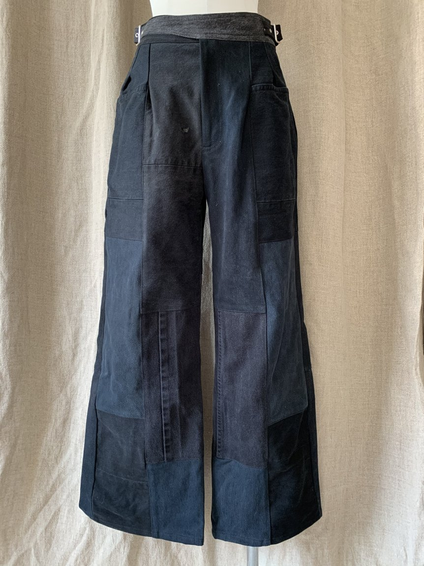 west belt denim pants-A(25)