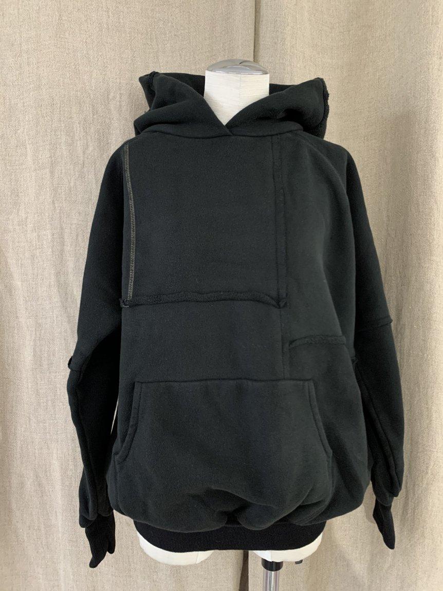 over dye hoodie-C