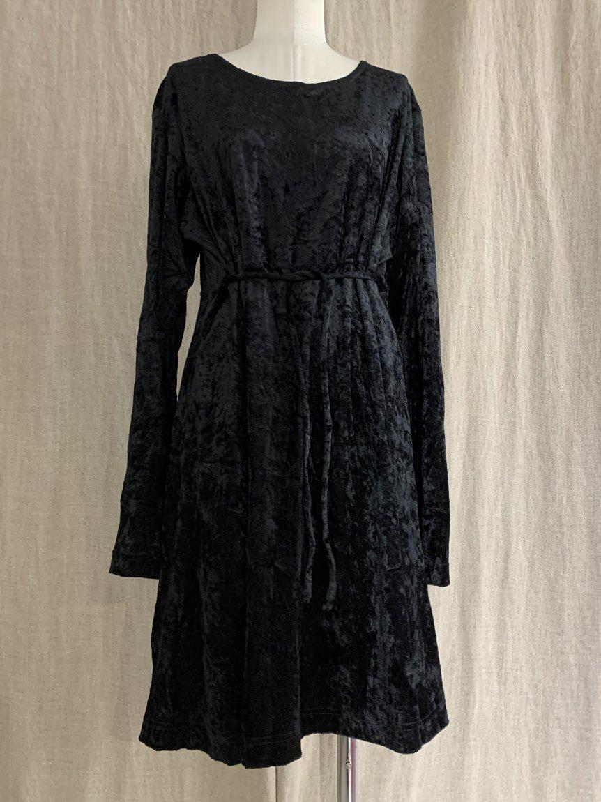 velours dress-5(vintage&used)
