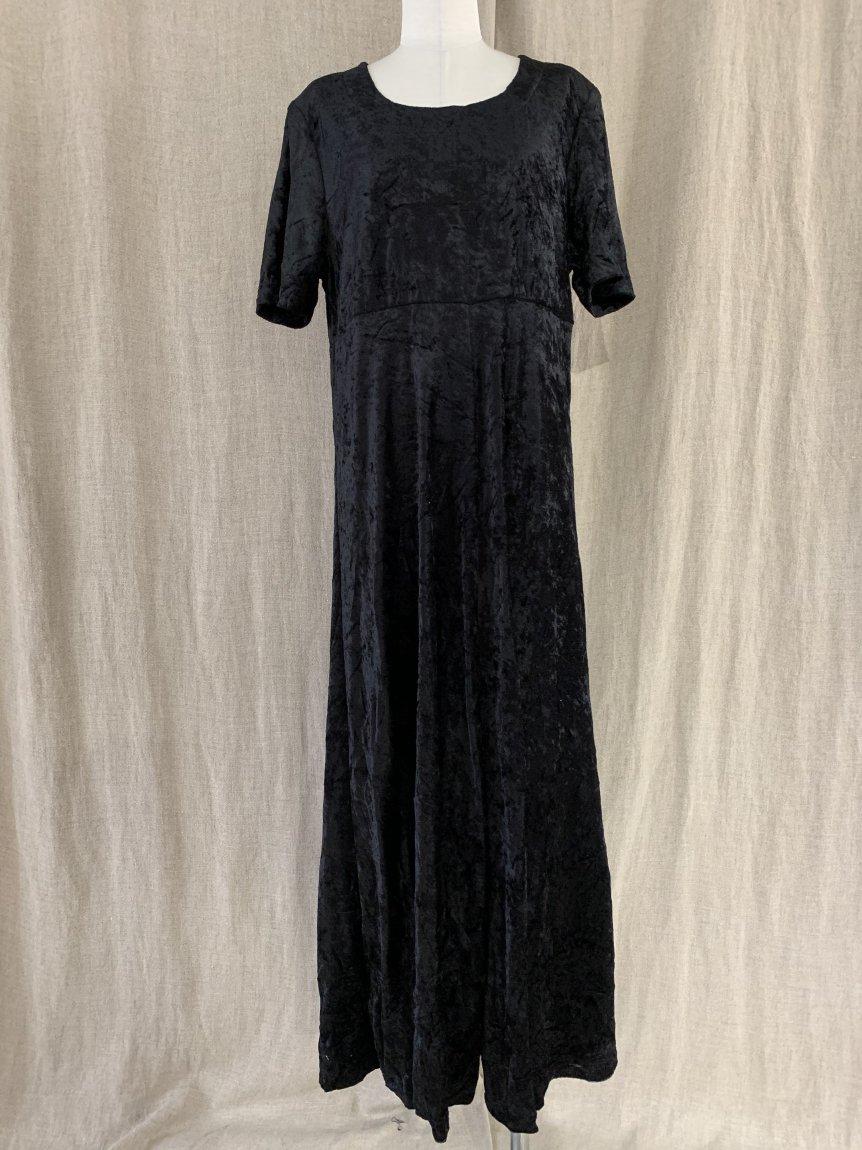 velours dress-4(vintage&used)
