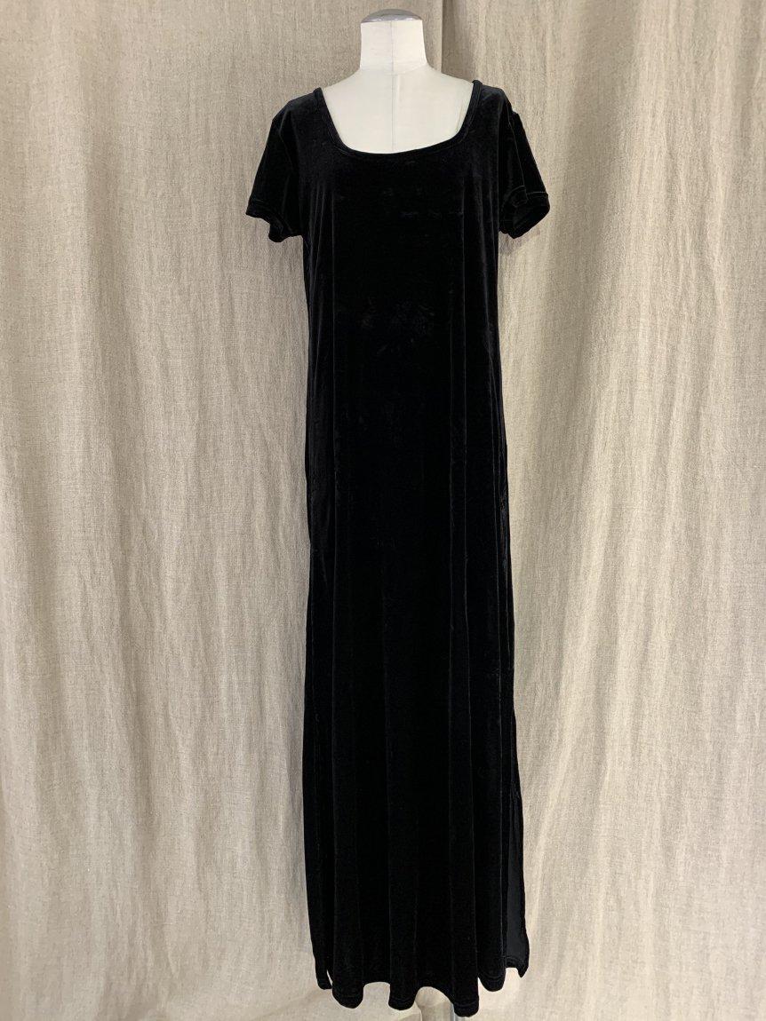 velours dress-2(vintage&used)