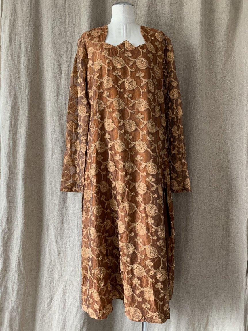 ethnic dress(vintage&used7)