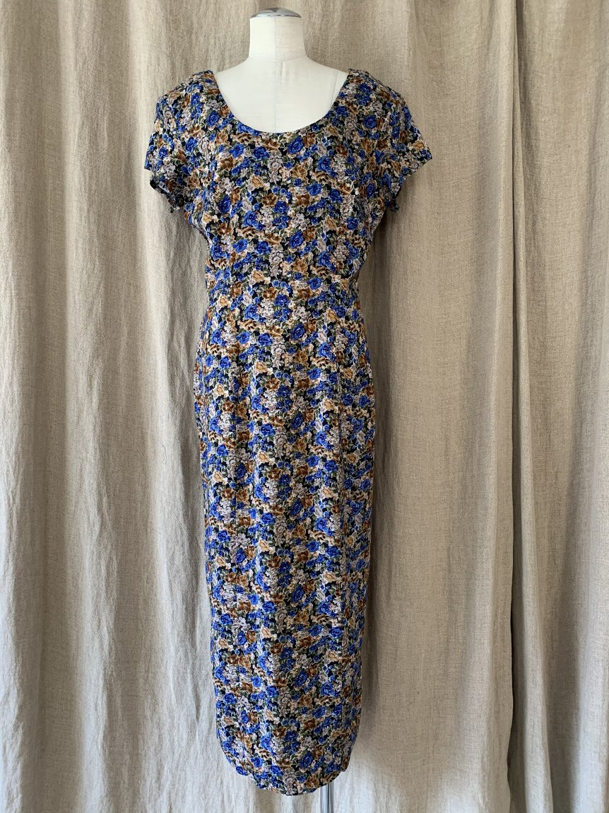 flower dress(vintage&used2 )