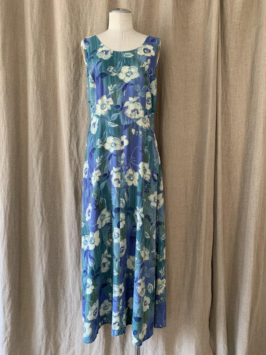 flower dress(vintage&used3 )