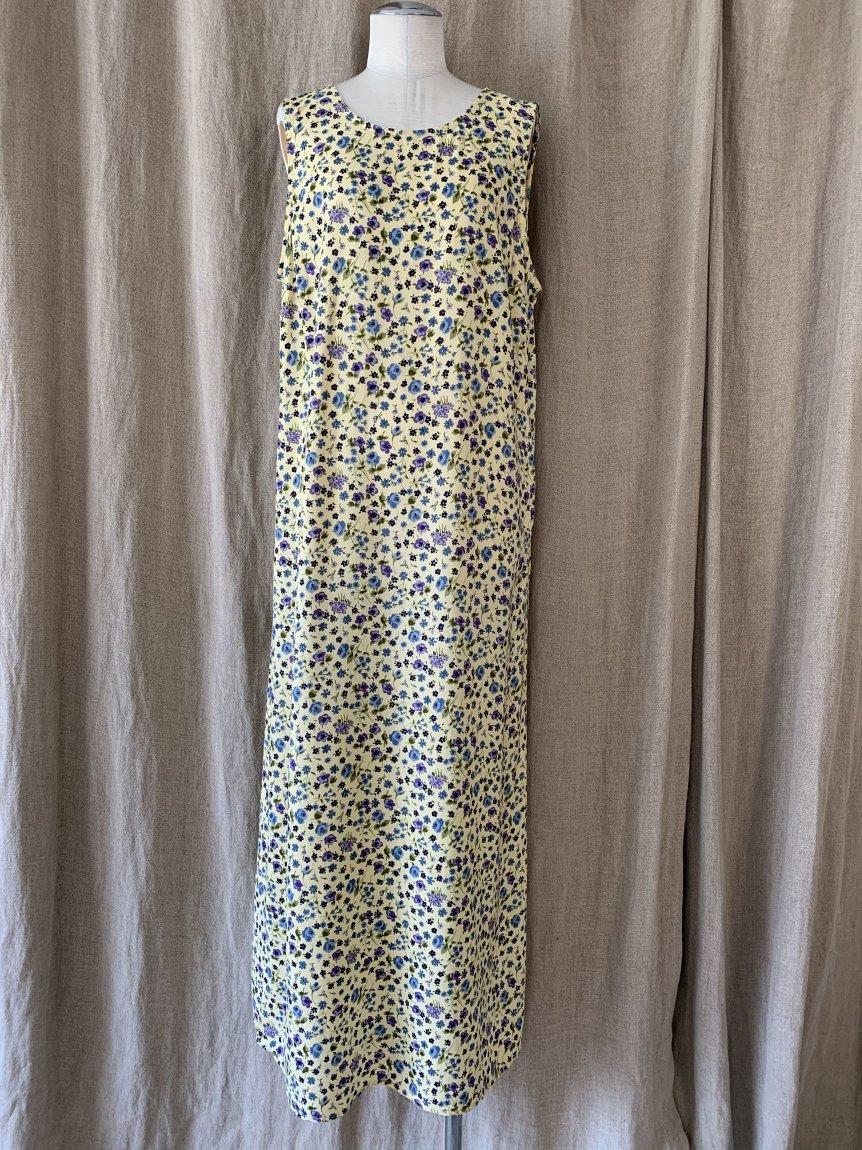 flower dress(vintage&used4 )
