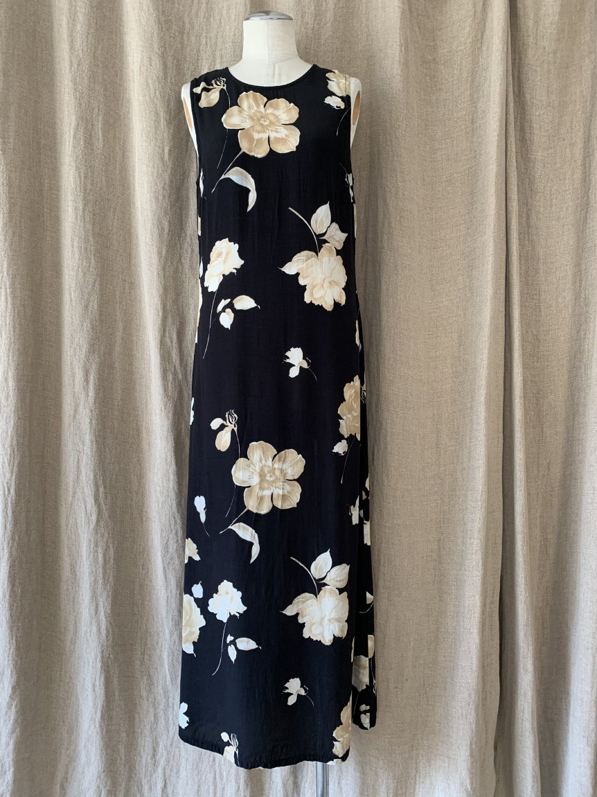 flower dress(vintage&used6 )