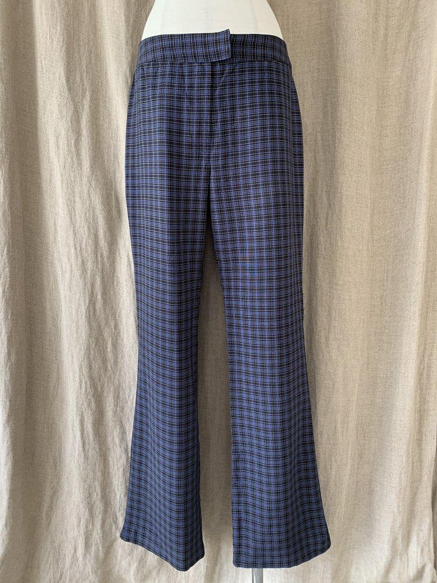 70's  check pants(used&vintage9)