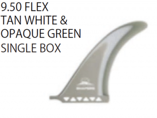 SHAPERS FINS 9.50 SINGLE BOX
