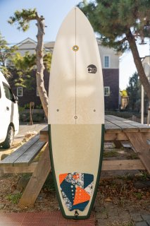 中古 CG SURFBOARDS 6'4 x 20 1/2 x 2 9/16