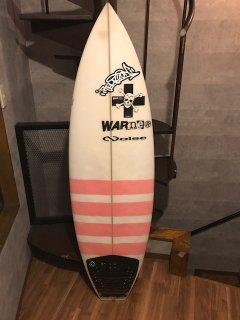 ワーナーサーフボード(中古・レンタル可) 5フィン(フィン無し)