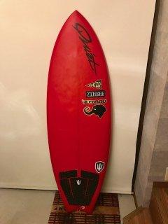 QSPサーフボード(新品・試乗ボードレンタル可)5フィン フィッシュ