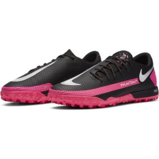 <img class='new_mark_img1' src='https://img.shop-pro.jp/img/new/icons24.gif' style='border:none;display:inline;margin:0px;padding:0px;width:auto;' />NIKE【ナイキ】 リアクト ファントム GT PRO TF(ブラック/ピンクブラスト/メタリックシルバー)