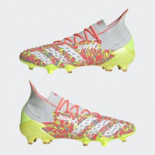 <img class='new_mark_img1' src='https://img.shop-pro.jp/img/new/icons13.gif' style='border:none;display:inline;margin:0px;padding:0px;width:auto;' />adidas【アディダス】  プレデターフリーク.1 FG (クリアグレー/ホワイト/イエロー)