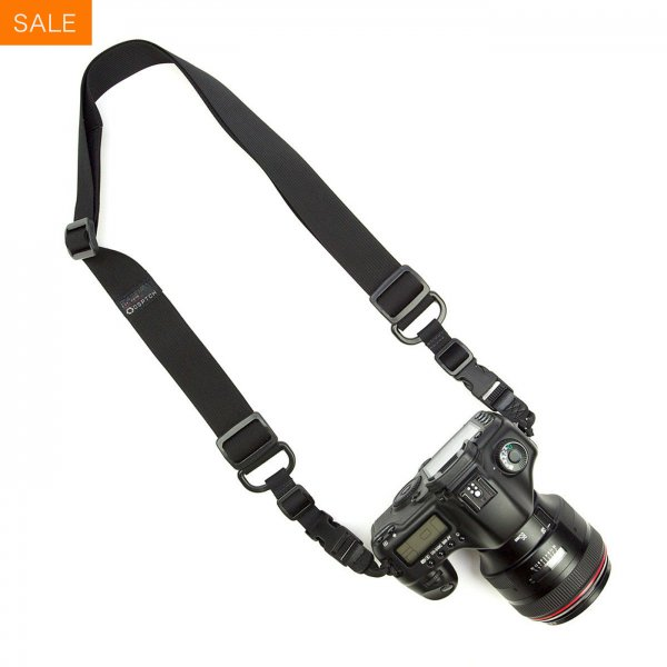 HEAVY CAMERA SLING STRAP - BLACK
