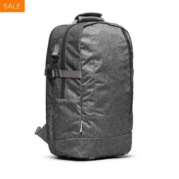 DAYPACK - GREY SPECKLED TWILL