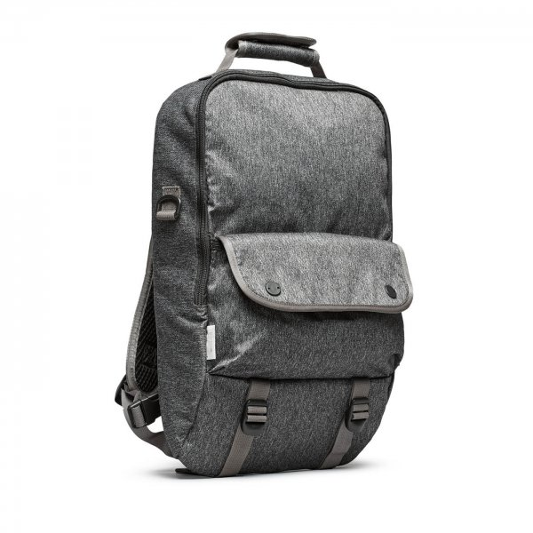 BOOKPACK - GREY SPECKLED TWILL