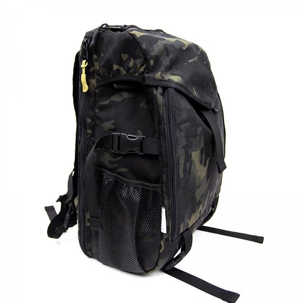CAMERA RUCKPACK - BLACK CAMO